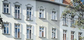 Wir renovieren Fassaden aller Art und Größe für unsere Kunden.