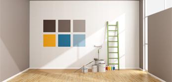 Im Bereich der Malerarbeiten unterstützen wir Sie.