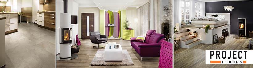 Designbodenbeläge für Objekt- und Wohnbau