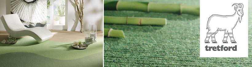 Teppichböden aus nachwachsenden Rohstoffen von Tredford