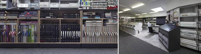 Unser Fachhandel bietet eine riesen Auswahl an Tapeten und Wandbelägen.