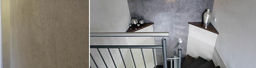 Marmorputz ist eine Exklusive und moderne Gestaltungstechnik.