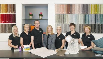 Unser Fachmarkt-Team Ewering Raumdesign