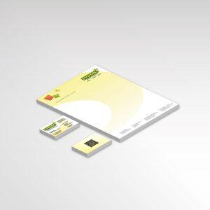 Printprodukte Ewering Raumdesign Briefpapier Visitenkarten Werbeartikel