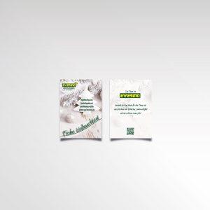 Ewering Weihnachten Flyer Weihnachtsgruß zweiseitig Werbeartikel Printprodukt