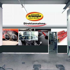 Automobile Krampe individuelle Fototapete Fotomontage