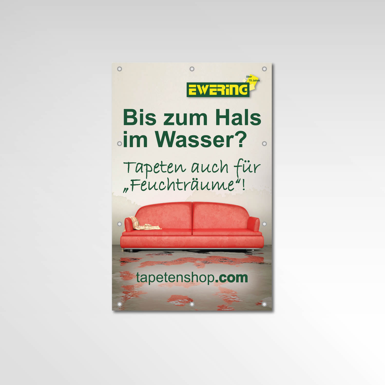 Bauzaun Banner Ewering Printprodukt Werbetechnik tapetenshop.com