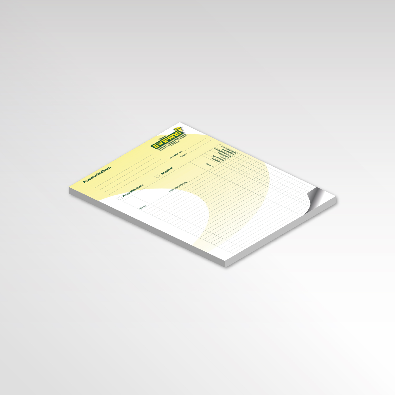 Ewering Auswahlschein Blöcke Printprodukte