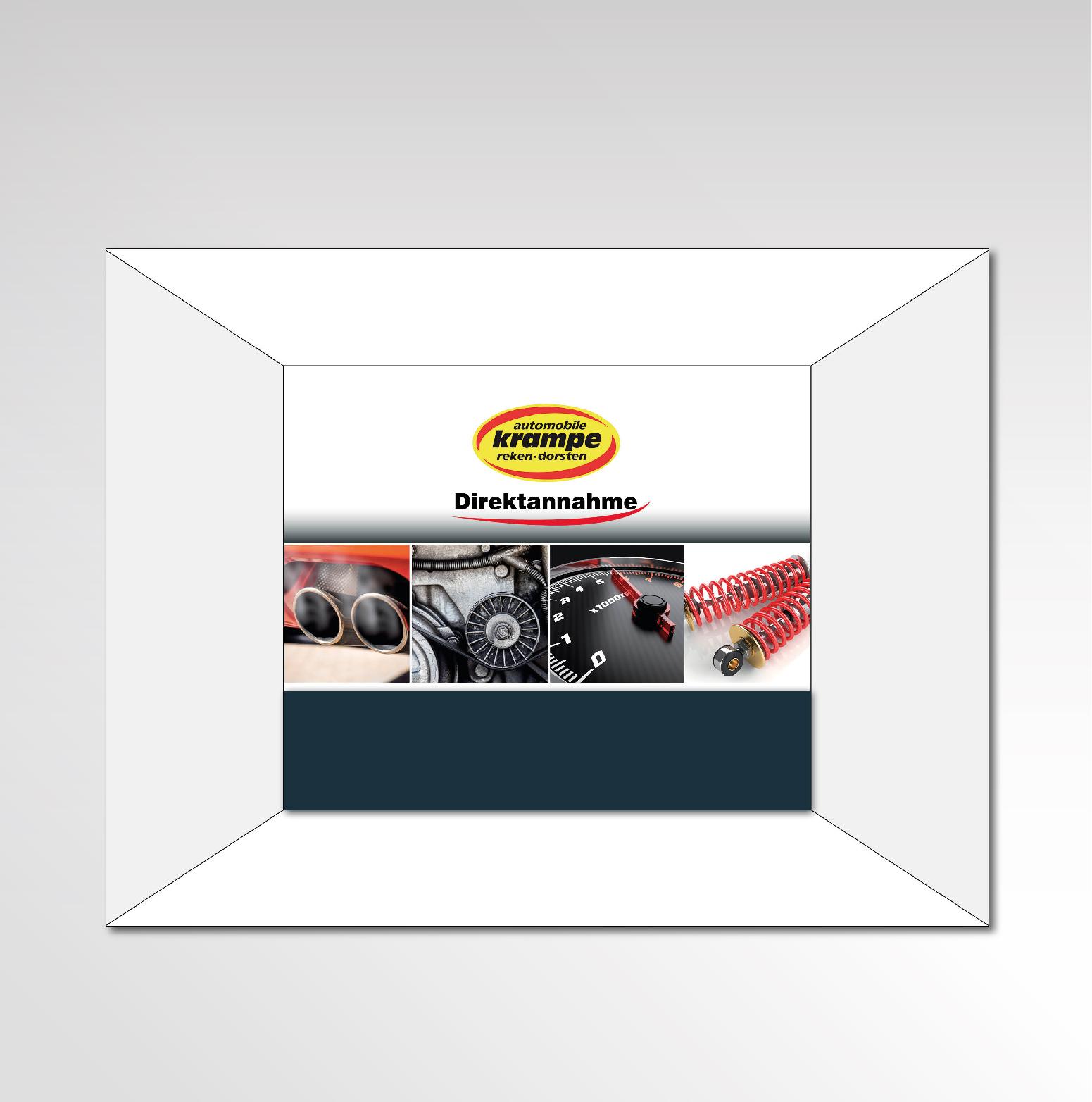 Individuelle Fototapete Automobile Krampe Entwurf Layout