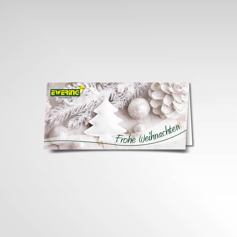 Weihnachtskarte Ewering Printprodukt Grußkarte Weihnachten 2015