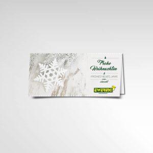 Ewering Weihnachtsgruß Printprodukt Weihnachtskarte 2016 Grußkarte