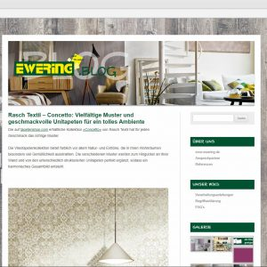 Ewering Blog Website blog.ewering.de Startseite