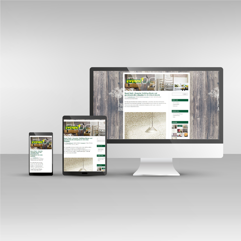 Responsive Webdesign blog.ewering.de Website Ewering Blog