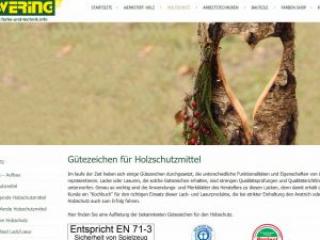 Ewering farbe-und-technik.info Webdesign Infoseite Holzschutz