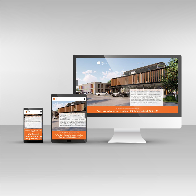 Responsive Webdesign IDPM Website idpm.nrw