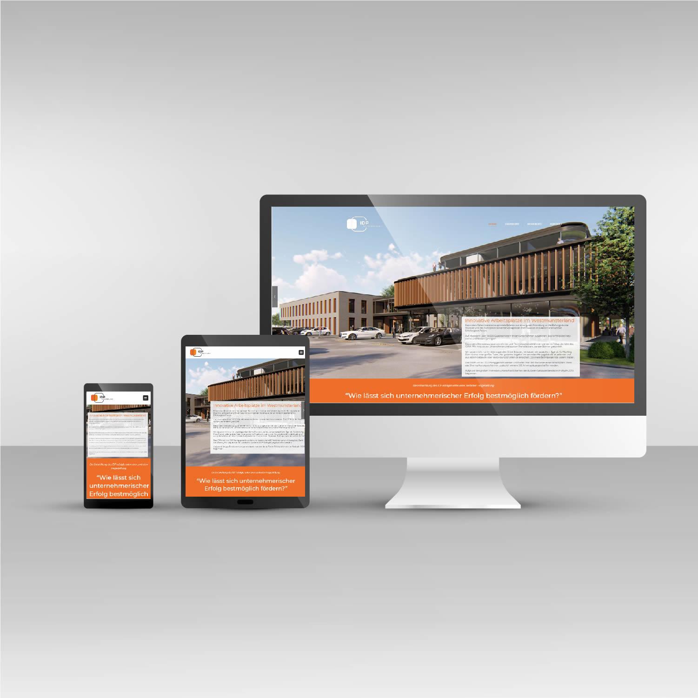 IDPM Website responsive Webdesign idpm.nrw