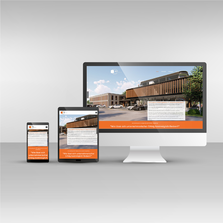 Webdesign responsive IDPM Website idpm.de