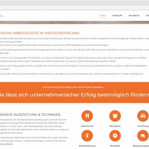 Home Startseite idpm.nrw Webdesign IDPM Website