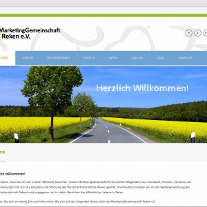 Home Startseite Marketinggemeinschaft Reken Website mg-reken.de Webdesign