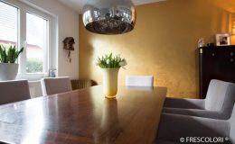 Ewering Exklusiv Marmorputz Frescolori® Metall Gold Wand