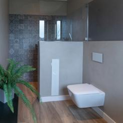Frescolori-Putz Ewering Badezimmer